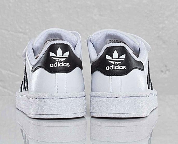 Adidas Superstar 2 CF C (28 35)(brancopreto)
