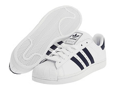 the best attitude 4595b 813ae Adidas Superstar II (brancoazul)