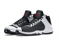 jordan superfly 4 po griffin black and white