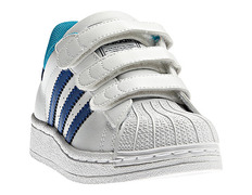 check out 87f43 231b9 Adidas Superstar 2 J (28-35brancoazul)