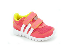 sports shoes a37b0 e90d0 Adidas STA Fluid 2 CF Infant (RosaBrancoAmarelo)