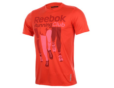 Reebok Camiseta RE SS TEE TC (Vermelho) 9a6d3b960ec