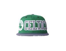 Adidas NBA Celtics Flat Brim Cap (kelly-sld black white) 92705ebbb1e