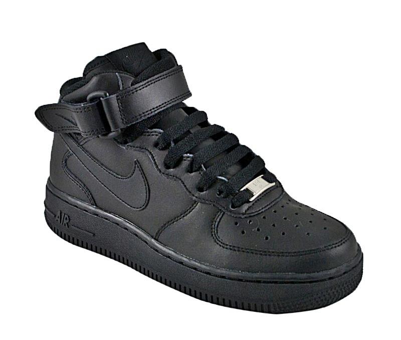 Nike Air 1 Mid (GS) (004black) manelsanchez.pt