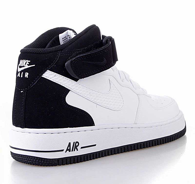 air force 1 blanco y negro
