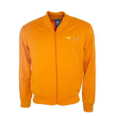 Superstar naranja Pharrel Color Chaqueta Adidas Originals
