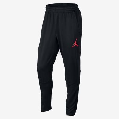 12fdadb42077 Jordan 360 Fleece Men s Sweatpants (black red)