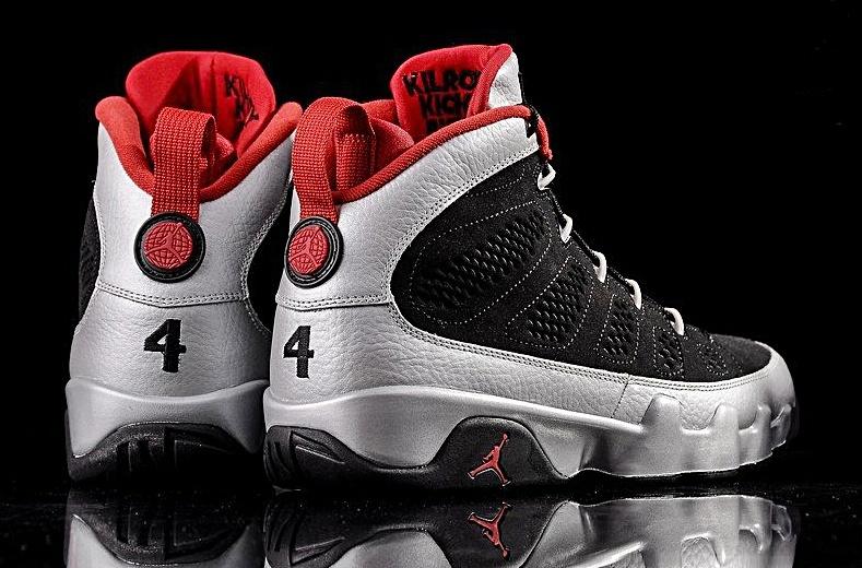 3e61983f5d9 ... Air Jordan 9 Retro (012 preto gris vermelho)