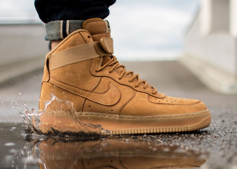 nike air force 1 flax outdoor green