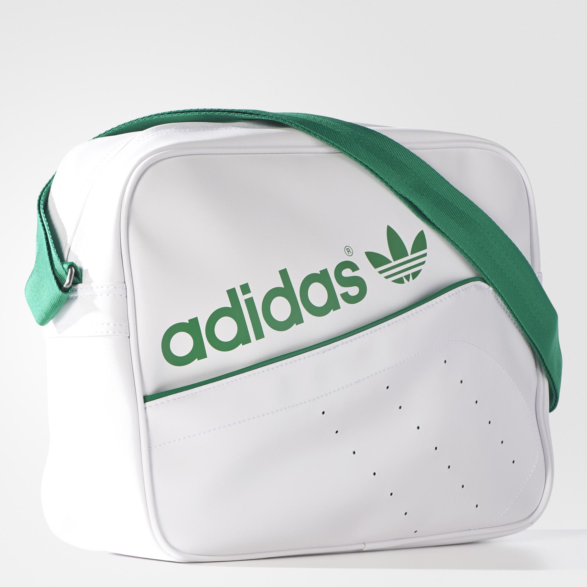 Bolsa adidas Originals Airliner Perf Branco