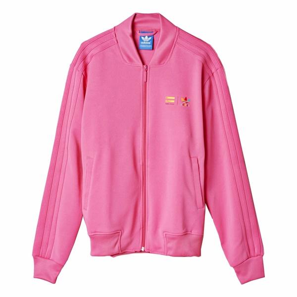 sudaderas adidas color rosa