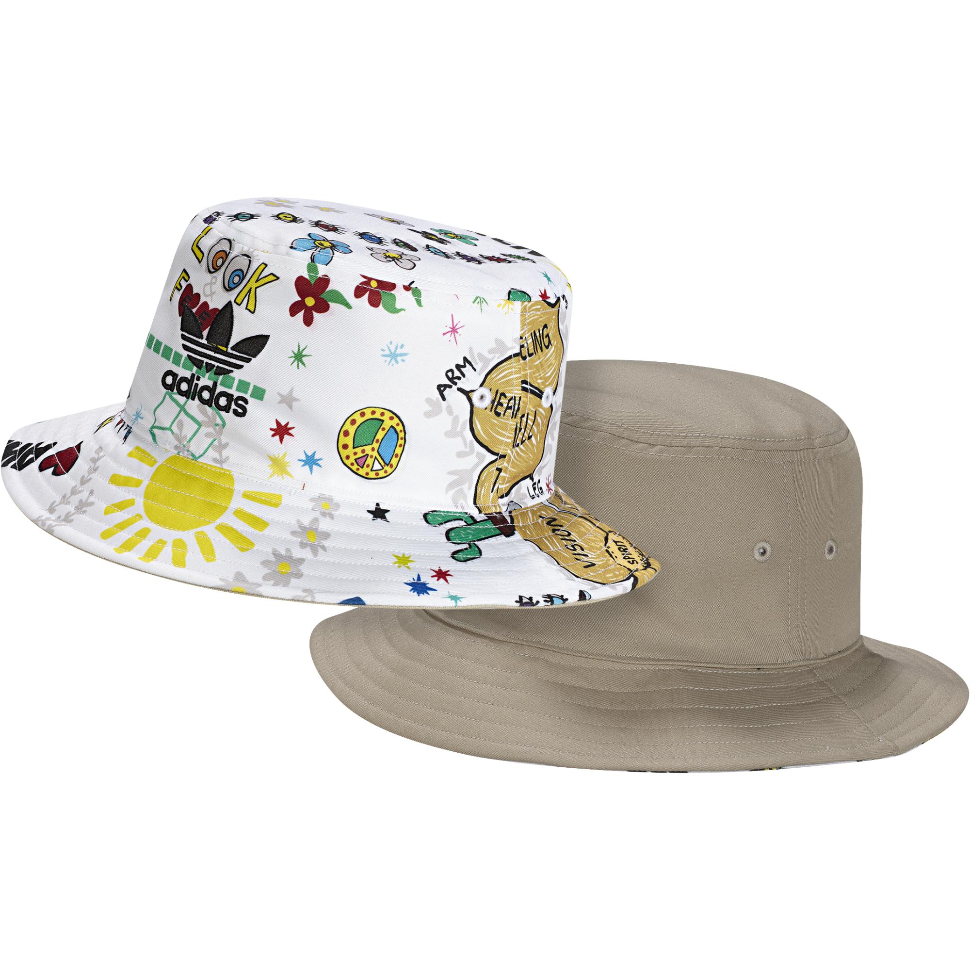 best sneakers ddd09 ad168 Adidas Originals Artist Bucket Hat Reversible Pharrell Williams (multicolor)