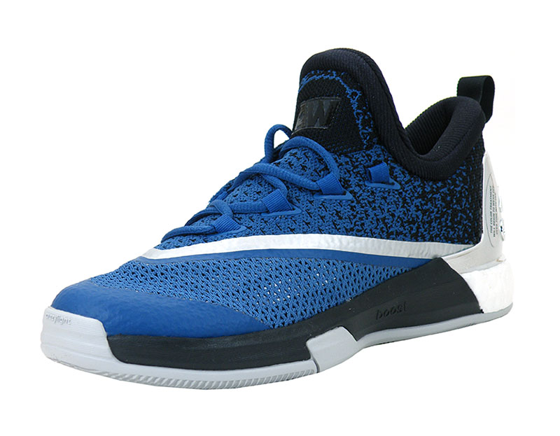 pretty nice 6b53b 11999 ... best price adidas crazylight boost 2.5 low timberwolves blue black  silver 9cab0 4caf3