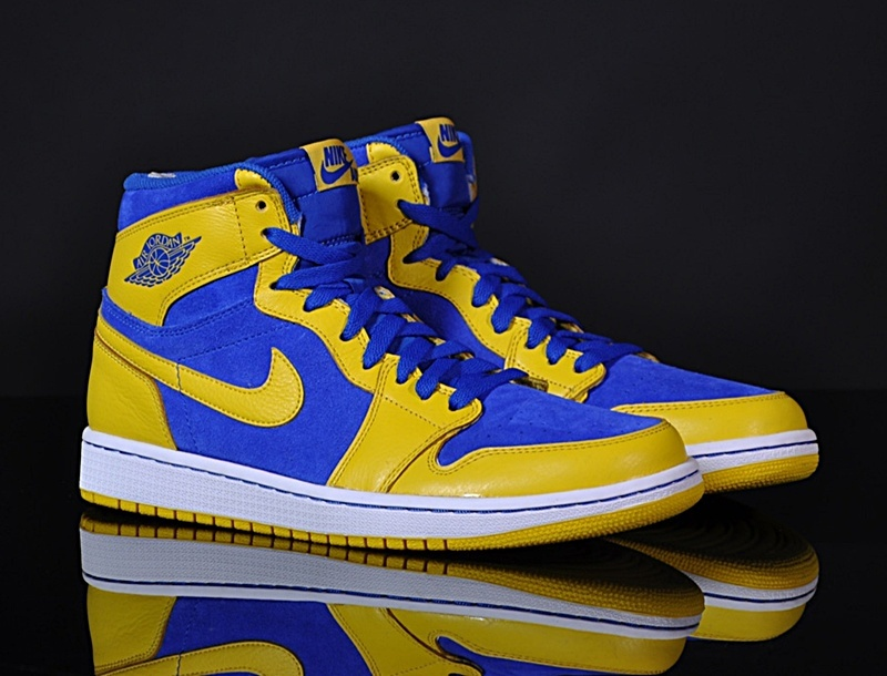 e63ac283c3cc7 ... clearance air jordan 1 retro high gs maize 707 amarillo royal e9dde  bb42f