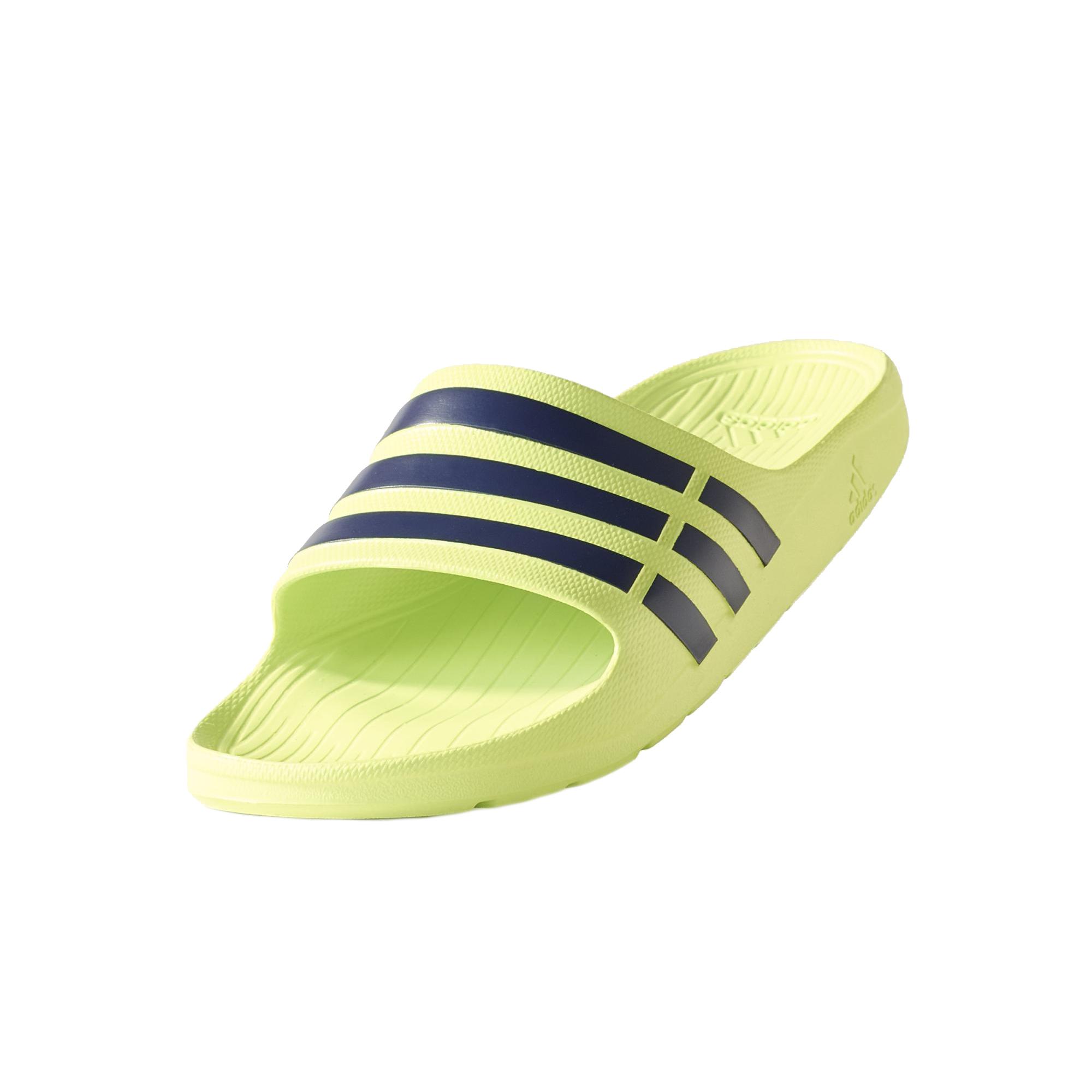 watch 84053 7e125 Chanclas Adidas Duramo Slide (amarillosolarmarino)