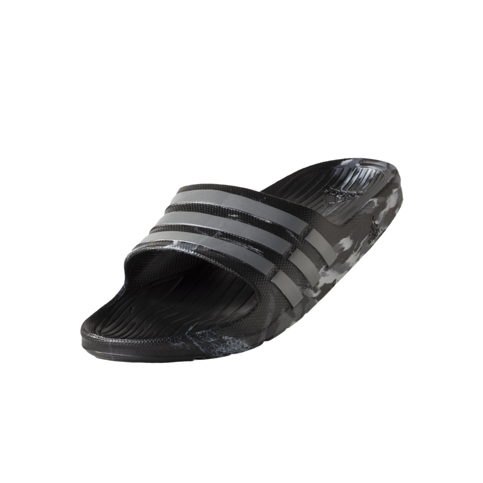 new style 32048 08d22 Chanclas Adidas Duramo Slide (negrogris)