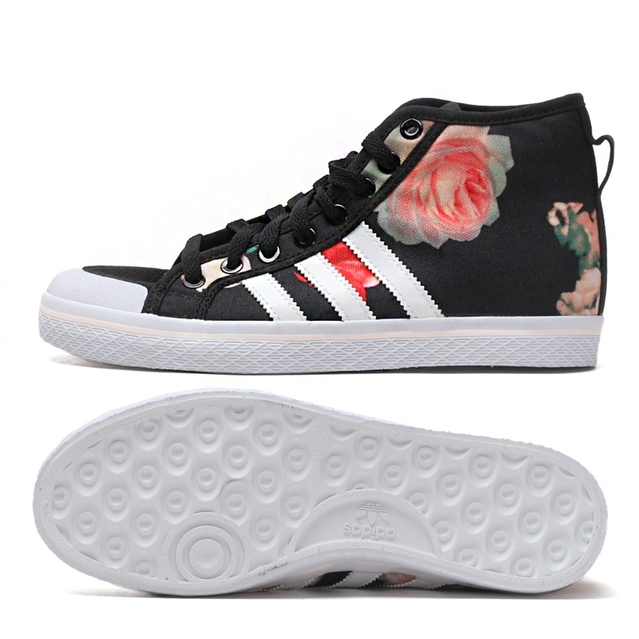 Adidas Honey Stripes Mid Woman´s (preto) manelsanchez.pt