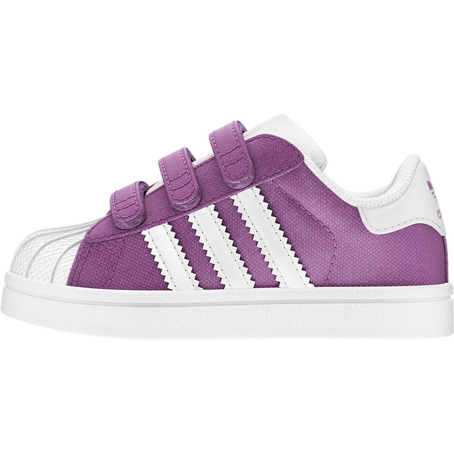 2e07461623b Adidas Superstar 2 CF Infants (purple white)