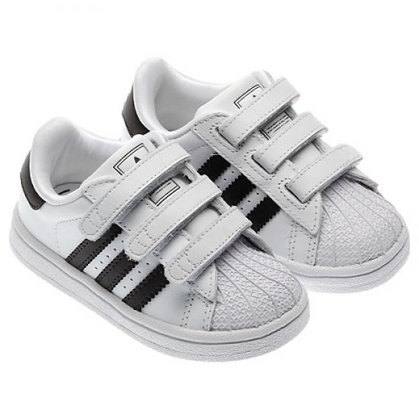 aebcd46d2f8 Adidas Crianças Superstar 2 CMF Inf (branco preto)