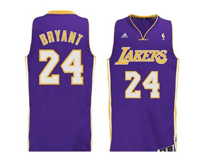 Los Angeles Lakers Swingman Kobe Bryant Jersey (purple) 74266eac806b0