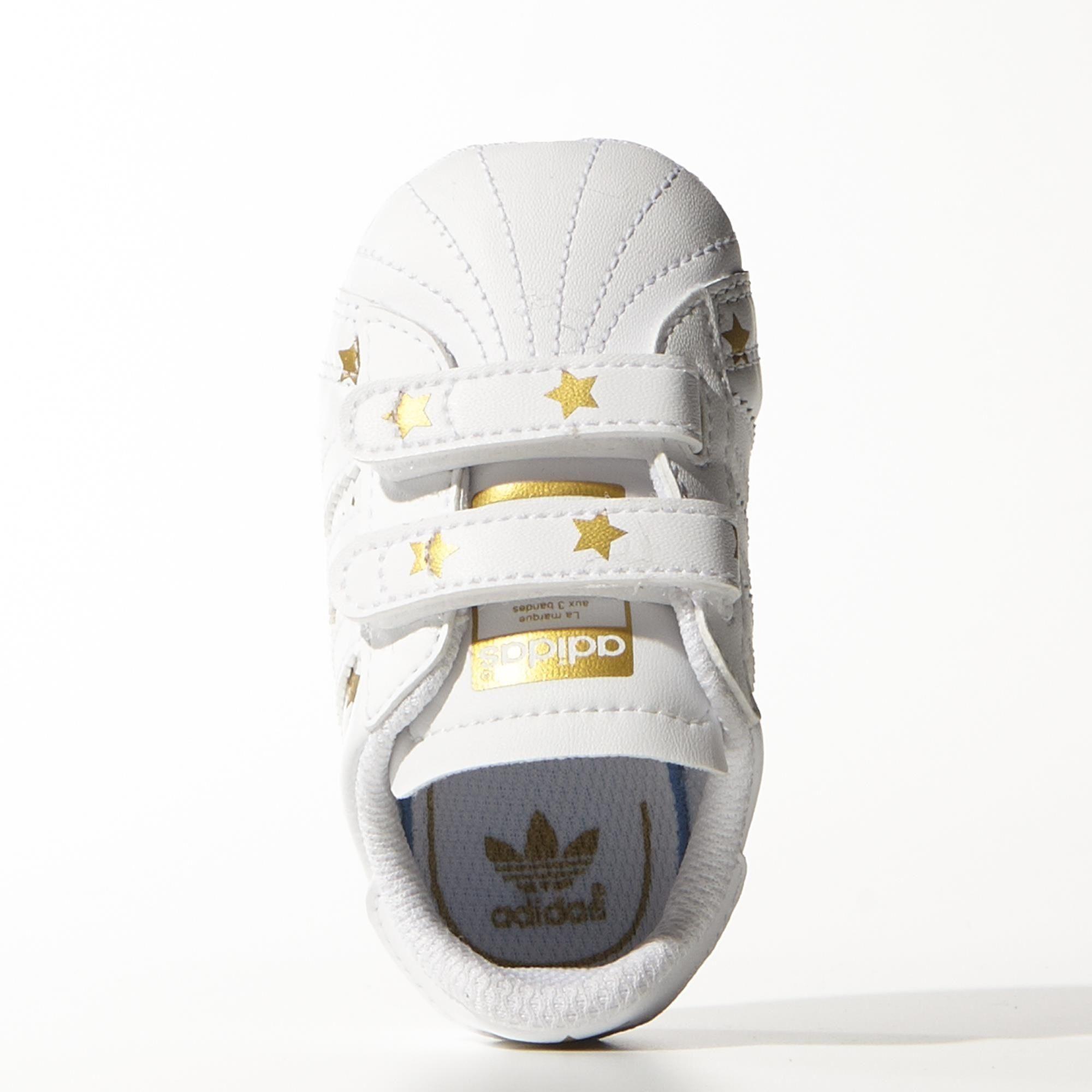 Originals Cribblancooro Bebé Superstar Adidas Zapatillas rxdtsChQ
