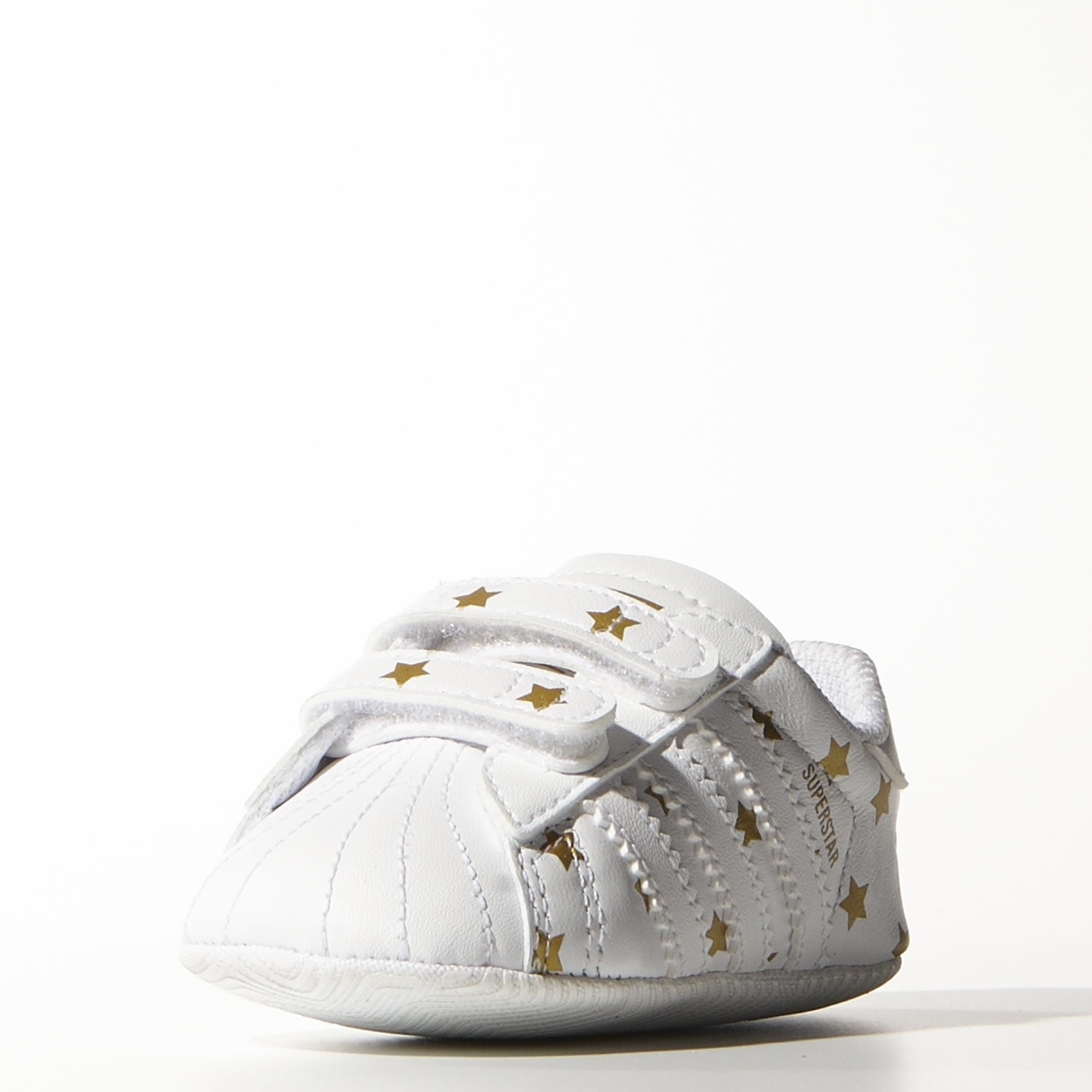 048d928ad0cc7 Adidas Originals Zapatillas Bebé Superstar Crib (blanco oro)