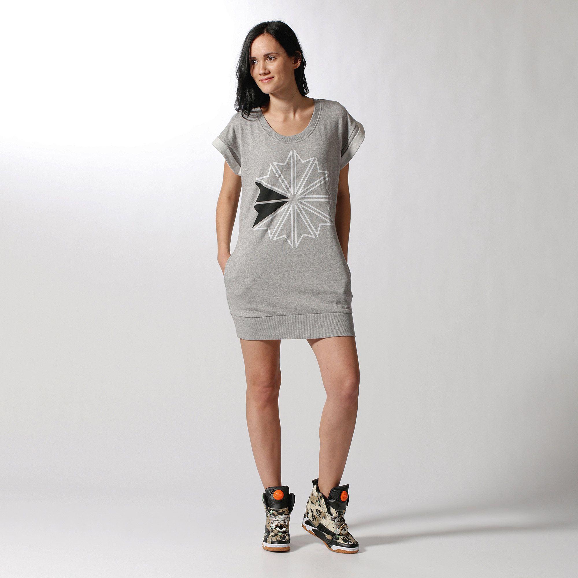 Vestido Classic Mujer FelpagrisManelsanchez Reebok pt JKF1lc