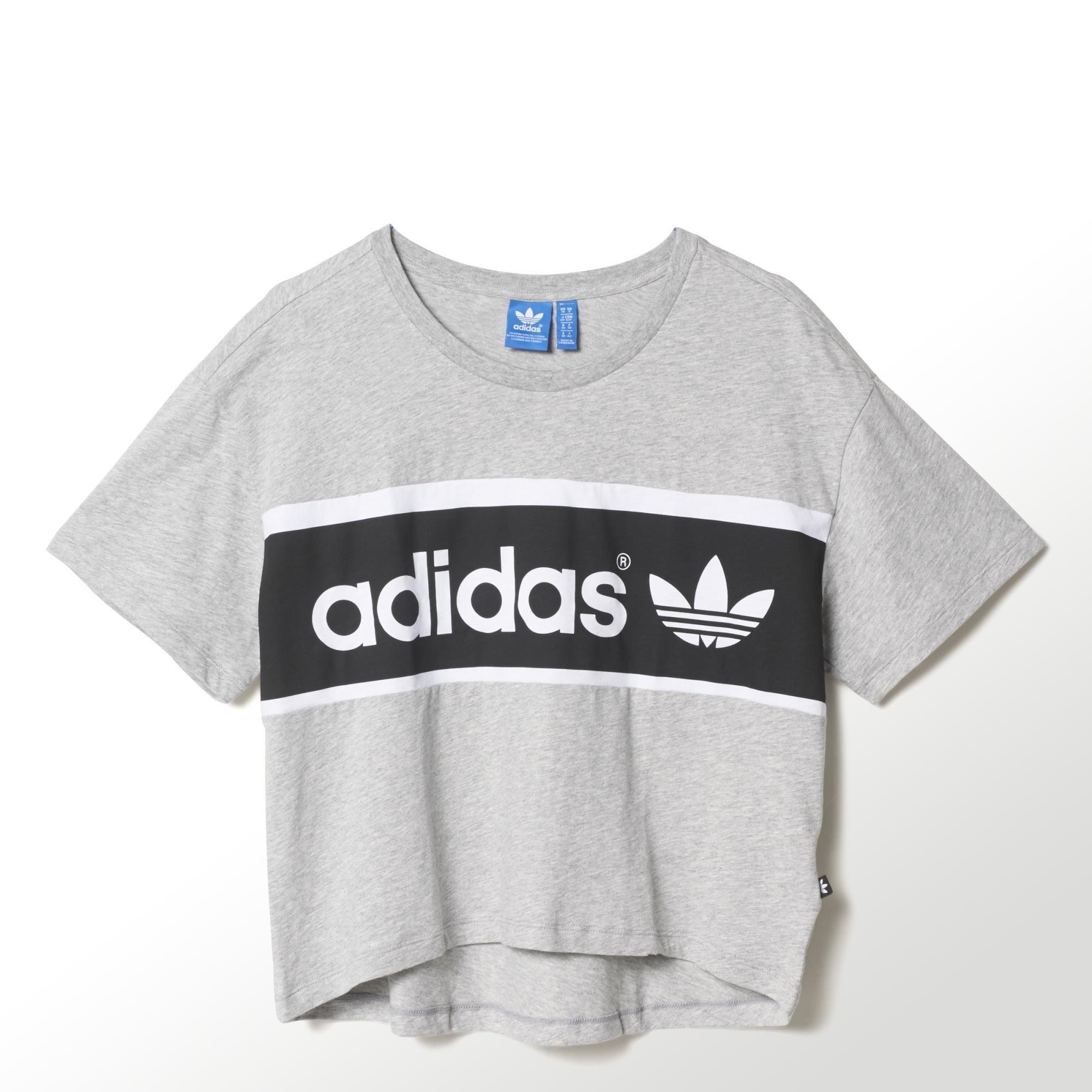 adidas camisetas mujer