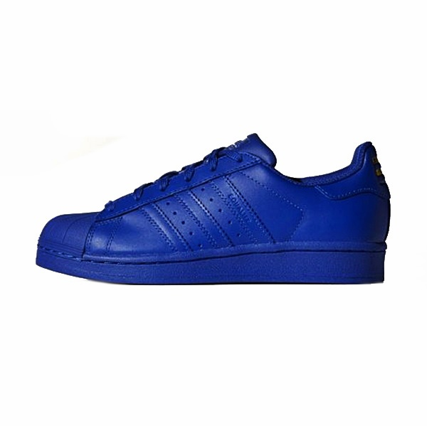 Adidas Originals SUPERSTAR Supercolor Pack J (azul)