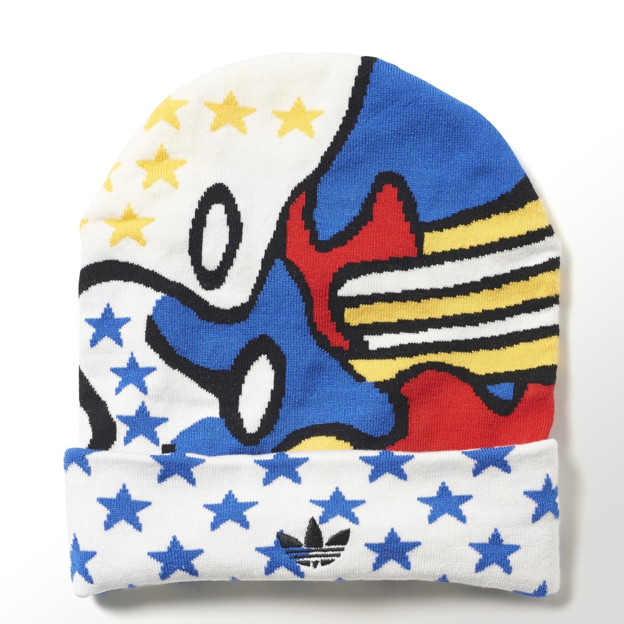 Adidas Originals Gorro Super Rita Ora (blanco multicolor) 0ca324ce999