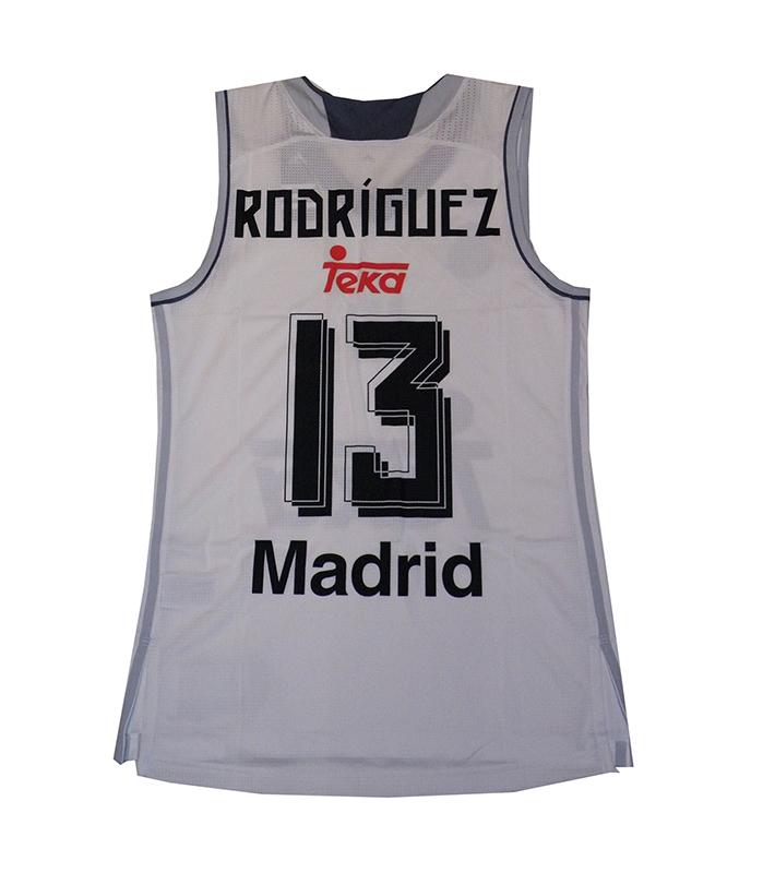 Camiseta Sergio Rodríguez #13# Real Madrid Basket 2015-2016 (bla
