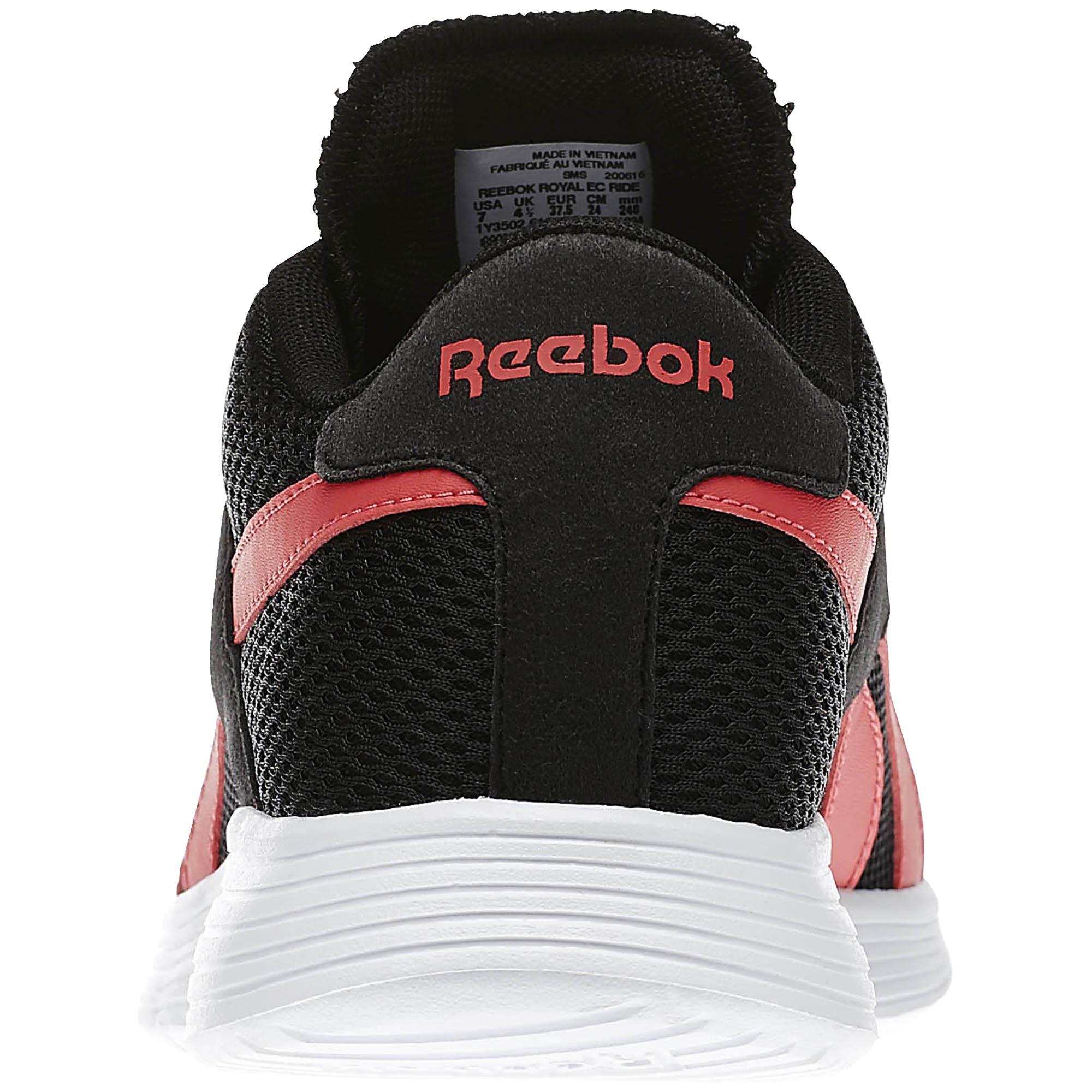 2221e68bb5362 ... Reebok Royal EC Ride Trainers Women (black pink white)