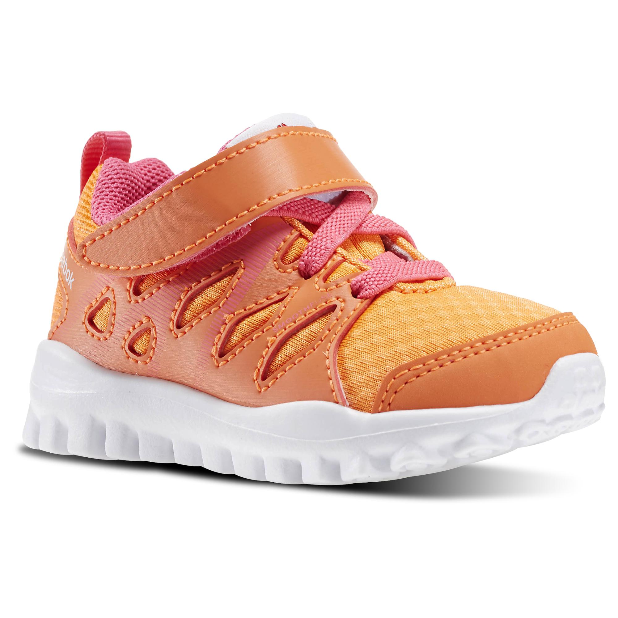 meet f1782 d6062 Reebok Realflex Train 4.0 infant (peach   pink)