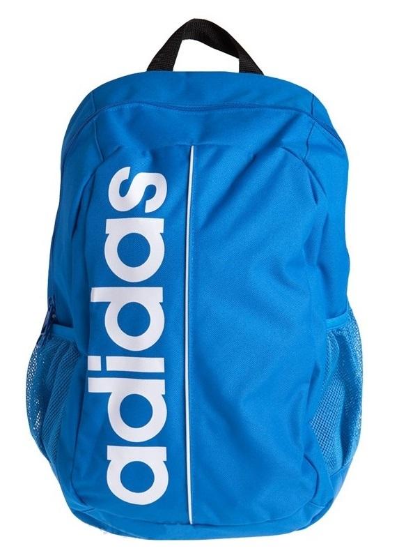 Adidas Mochila Essential Linear Bag Pack (azulbranco)