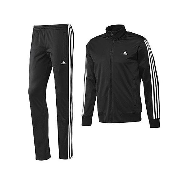 e3f8491296e Adidas Track Suit Statement (preto white)