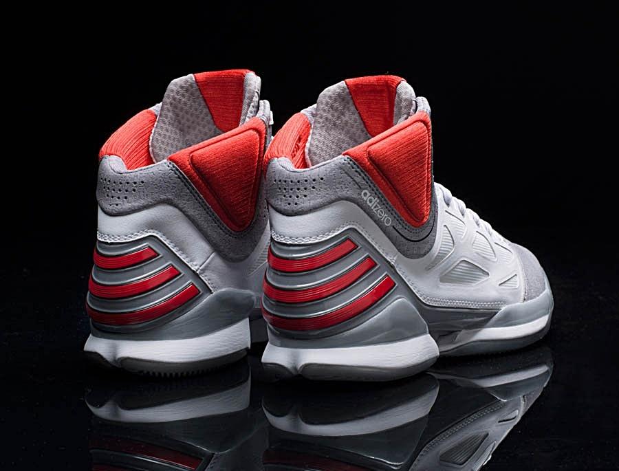 a6fa002383de Adidas AdiZero Rose 2.5 (white grey red) - manelsanchez.pt
