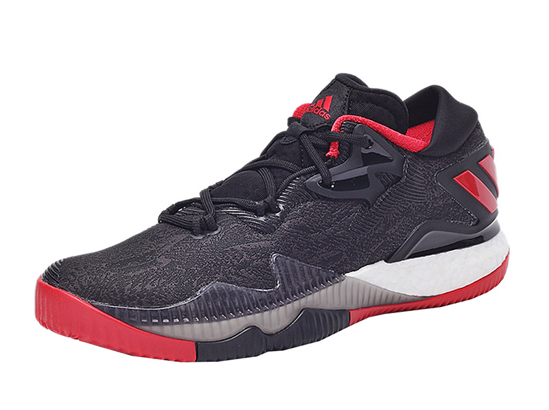 brand new 0ef3a a1602 ... italy adidas crazylight boost low 2016 james harden kernel core black  scarlet ac69d 9b92b