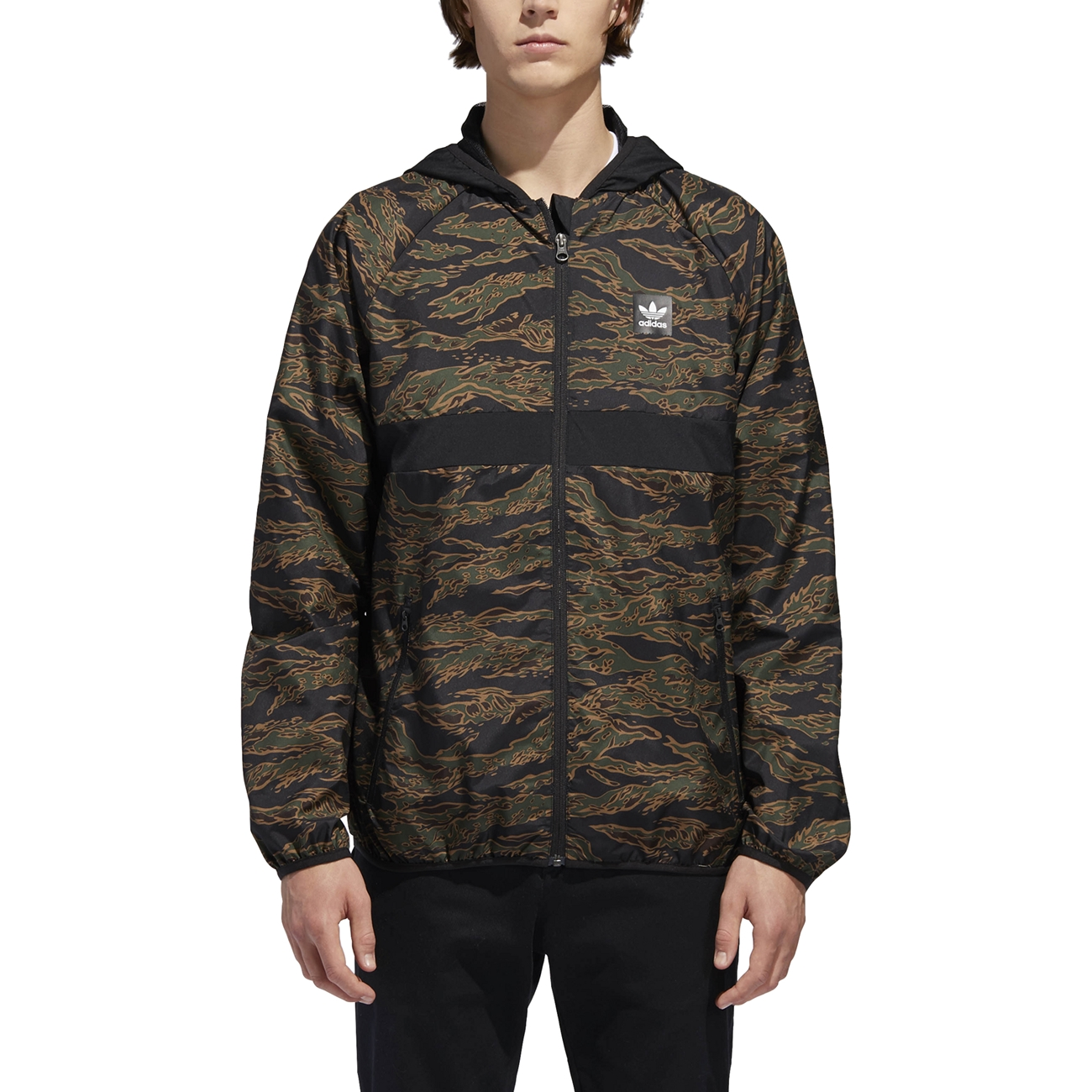 500e1afaa3cac ADIDAS ORIGINALS CAMOUFLAGE BB WIND PACKABLE JACKET (CAMO)