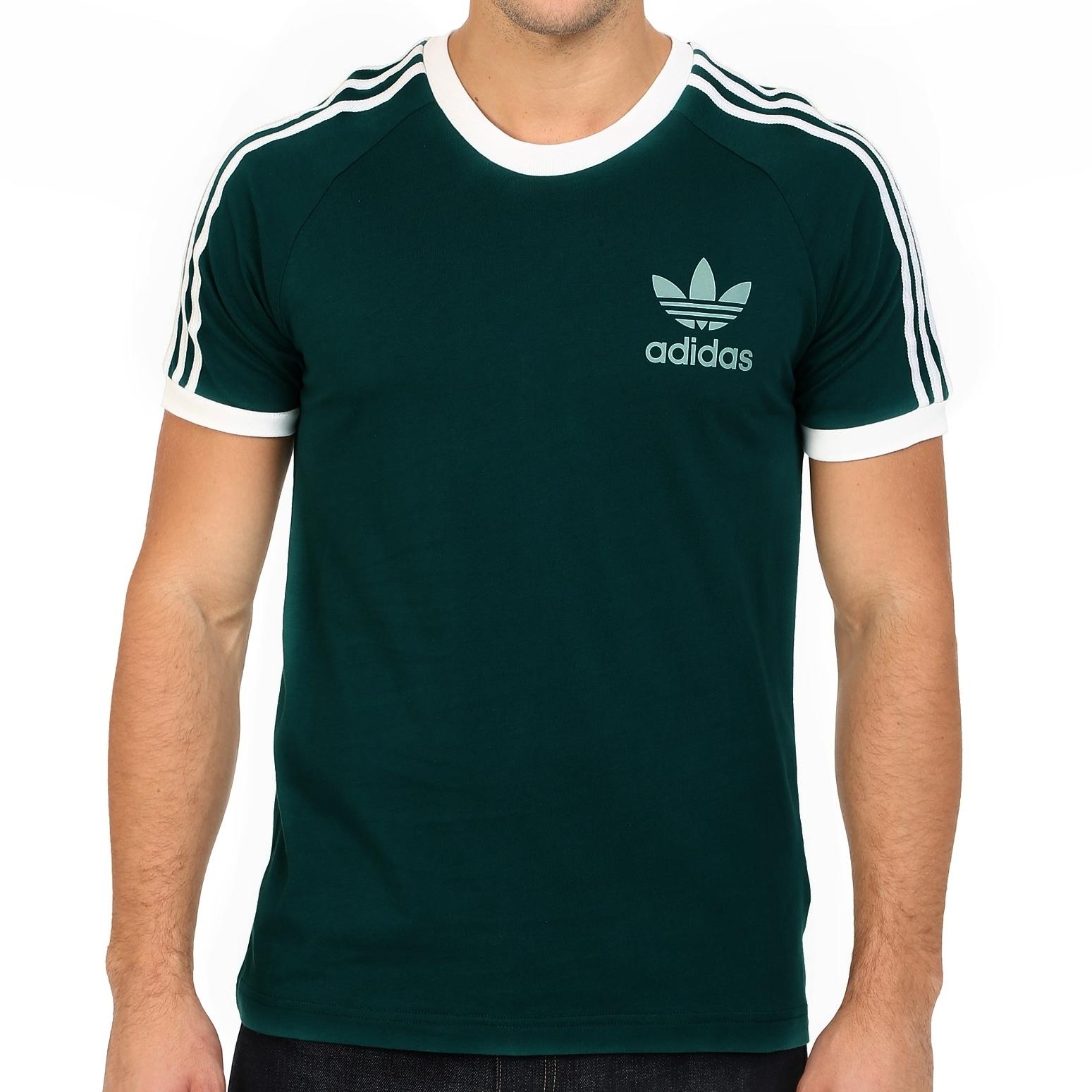 d5444320a Adidas Originals CLFN Tee (green night) - manelsanchez.pt