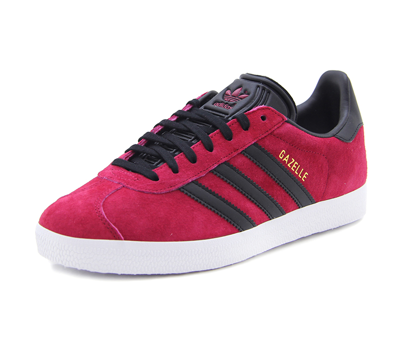 on sale 4be3e 3243b Adidas Originals Gazelle (unity pink f16 black gold met)