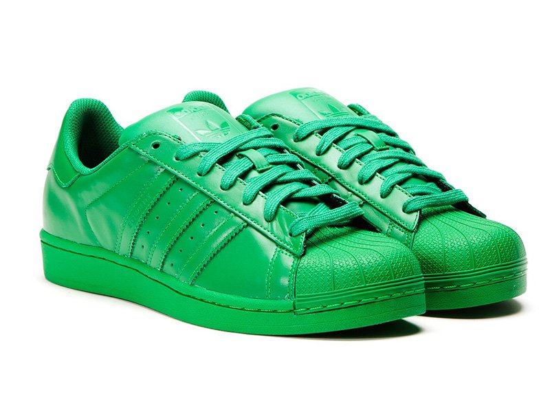 Adidas Originals SUPERSTAR Supercolor Pack (verde)