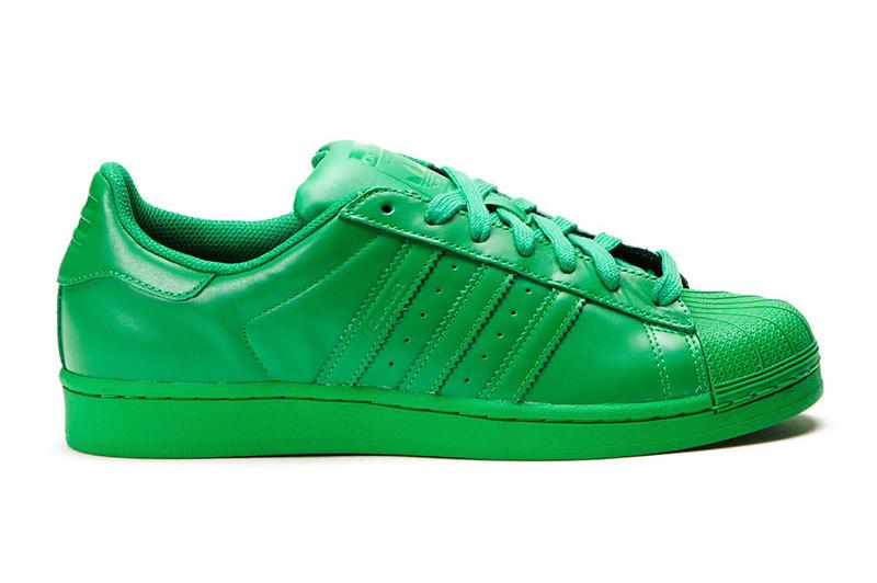Adidas Originals SUPERSTAR Supercolor Pack (verde)