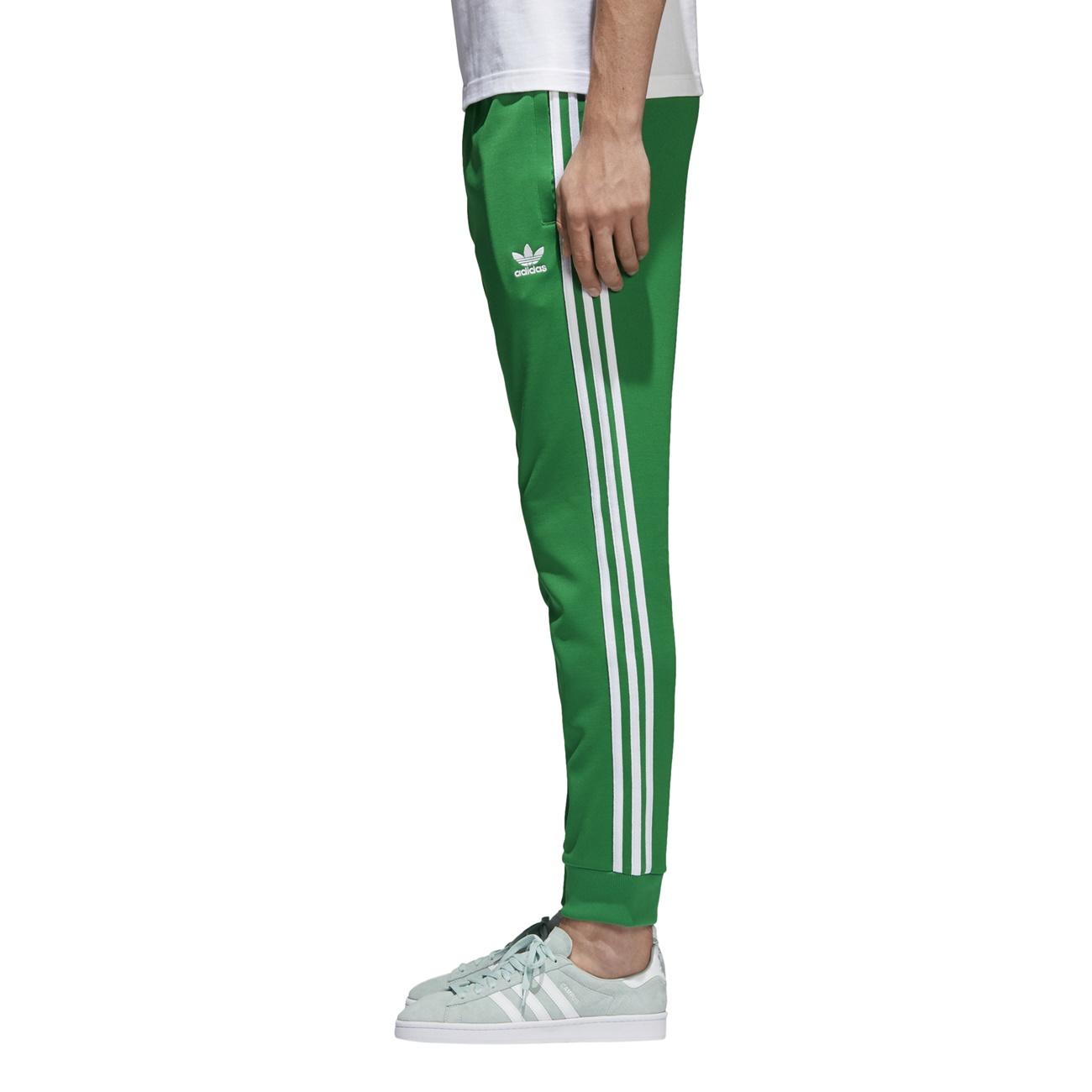 cheap for discount ebaec 48ca8 Adidas Originals Superstar Track Pants (Green)