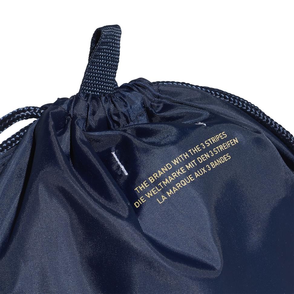 cicatriz Descodificar perfil  Adidas Originals Trefoil Gym Sack (Collegiate Navy / Raw Sand)