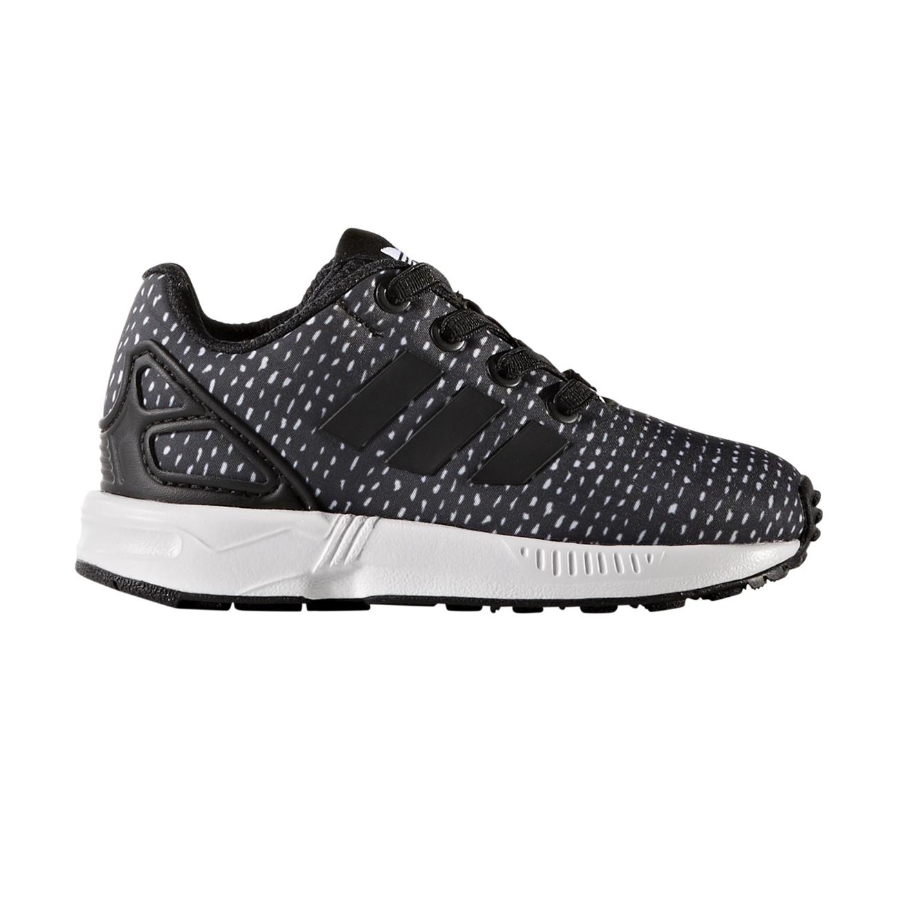 best service 94ccf f0a46 Adidas Originals ZX Flux EL Infant (core black core black ftwr white)