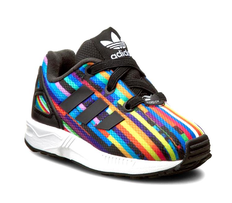 sale retailer bdda5 96d79 Adidas Originals ZX Flux EL Infants