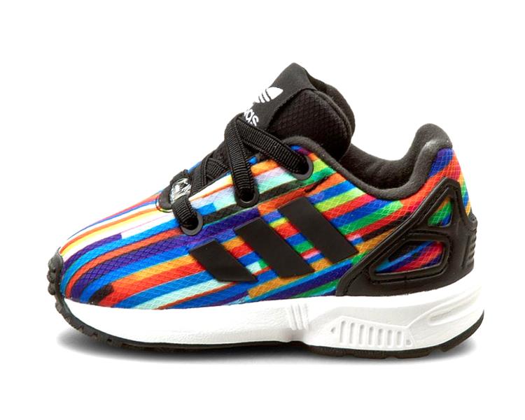 sale retailer d2dd9 46a9c ... Adidas Originals ZX Flux EL Infants