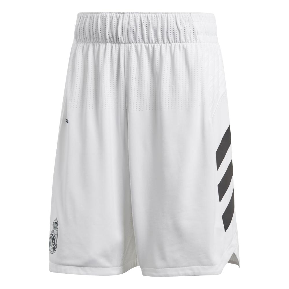 buy online 34244 f52a4 Adidas Short Real Madrid Basket 2018 2019 (1º Equipación)