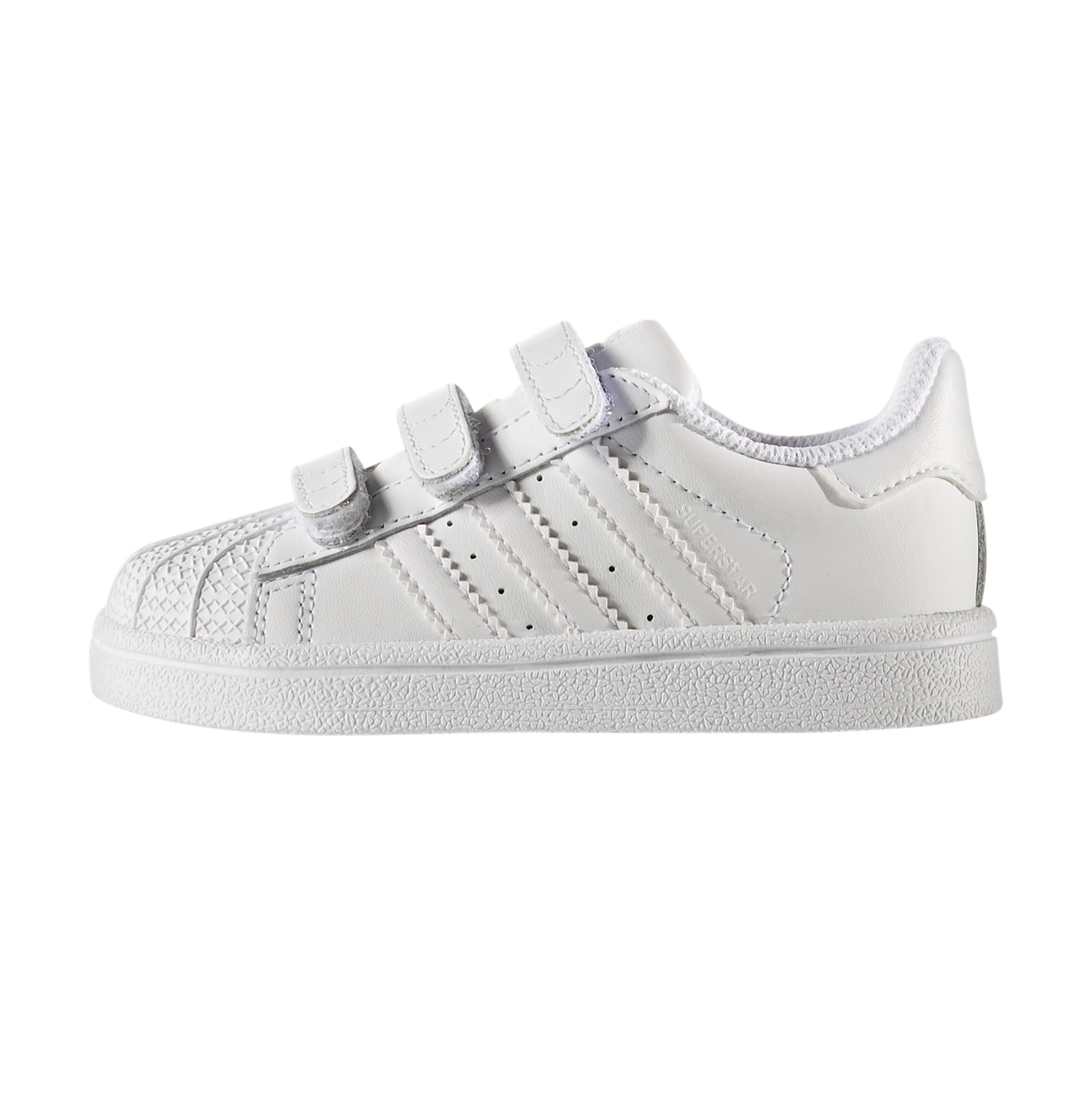 wholesale dealer 66f5f 7ed76 Adidas Superstar CF Infants White, ...
