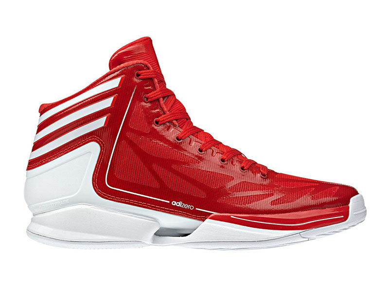 Lovely ... Adizero Crazy Light 2 (red/white), Img 2 ...